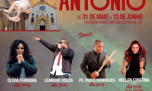 CONTAGEM REGRESSIVA PARA  A 176ª  FESTA DE SANTO ANTÔNIO