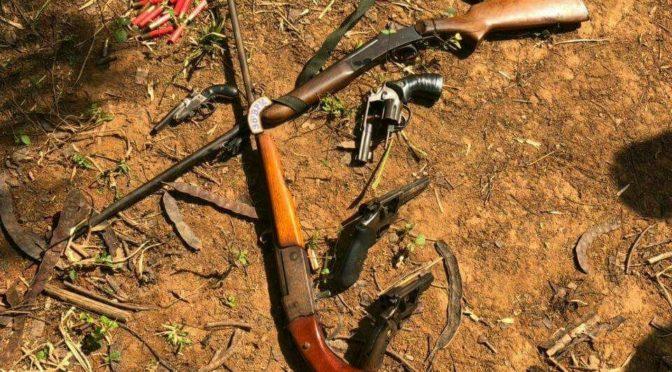 Polícia Apreende Armas Que Teriam Sido Usadas Na Chacina Em Pádua