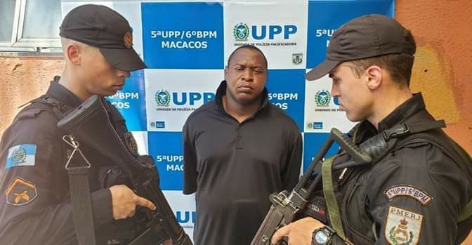 FORAGIDO DA JUSTIÇA DAS CIDADES DE MIRACEMA E ITAOCARA É PRESO NO RIO