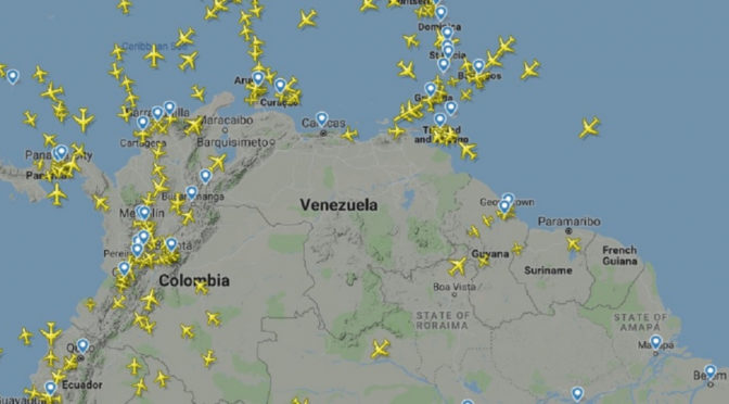 Espaço aéreo da Venezuela teria sido fechado por Maduro; AirFrance suspende operação no país