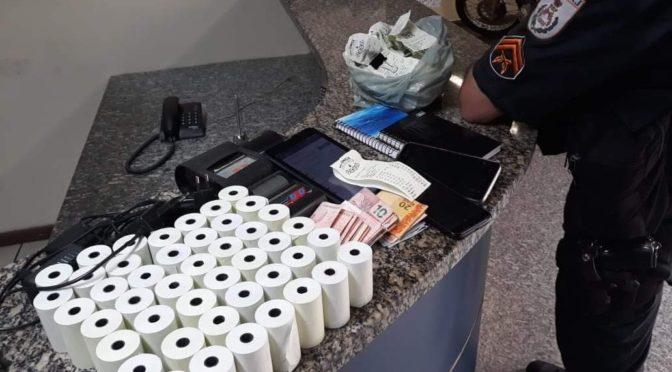 Polícia Militar prende jogo do azar em Itaocara