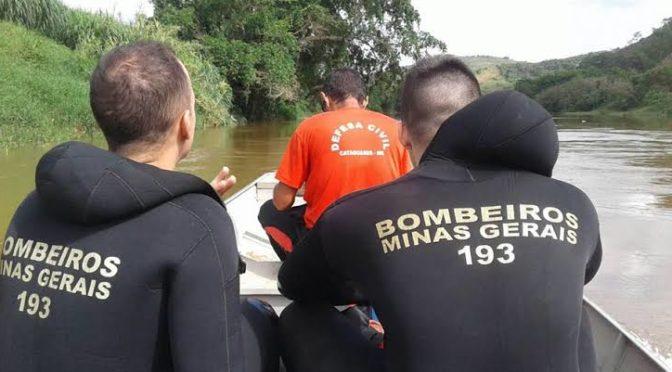 JOVEM DESAPARECE APÓS SAIR PARA PESCAR NO RIO POMBA EM CATAGUASES