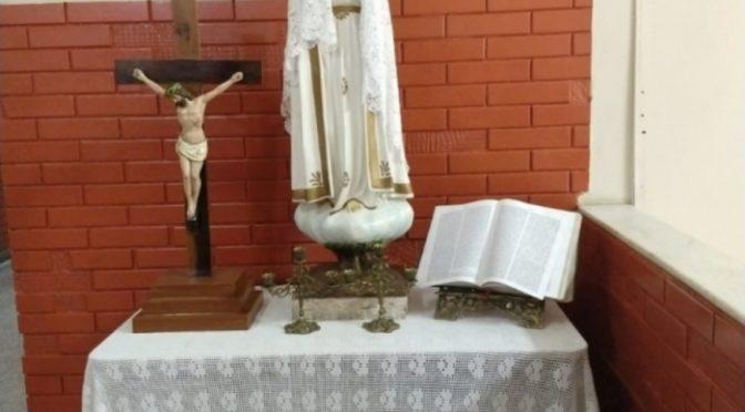 Retirada de imagem de Nossa Senhora de escola pública em Miracema gera polêmica