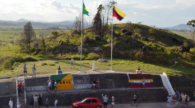 VENEZUELA REABRE FRONTEIRA COM O BRASIL