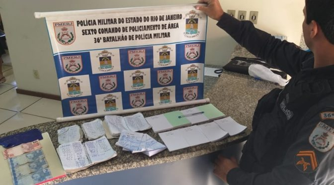 POLICIA APREENDE MATERIAL DE JOGO DE AZAR EM ITAOCARA