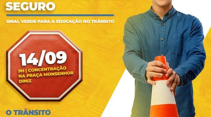 Dia 14 de Setembro acontece o movimento ¨Trânsito Seguro ¨ em Pádua Rj