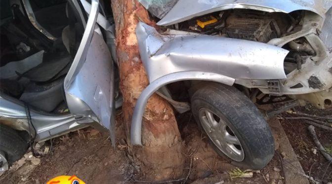 Acidente na Rj- 116 em Itaocara deixa três feridos
