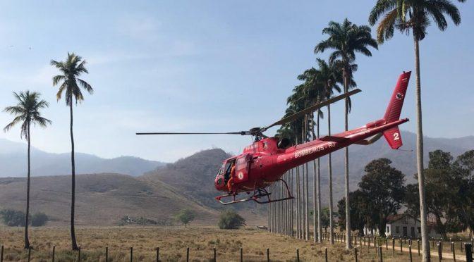 Segundo INEA, incêndio florestal em São Fidélis está controlado