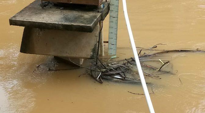Rio Pomba oferece risco a 4 bairros de Aperibé