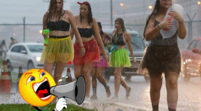 Pré-Carnaval promete ser de muita chuva