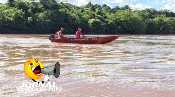 Mulher se desequilibra e cai no rio em Itaocara e está desaparecida