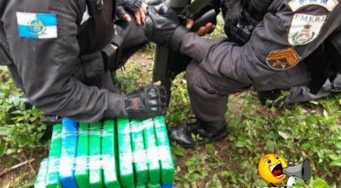 Polícia Militar apreende mais de 30 tabletes de maconha em Campos