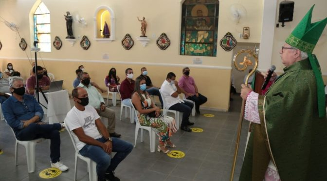 Celebração religiosa marca os 26 anos de emancipação político-administrativa de SFI
