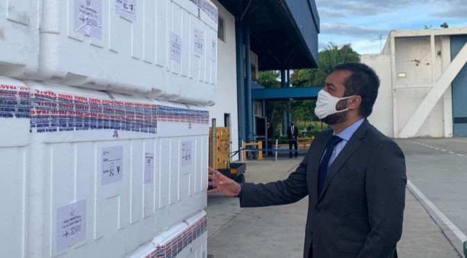 Confira quantas doses de CoronaVac cada município do estado do Rio recebe nesta segunda-feira