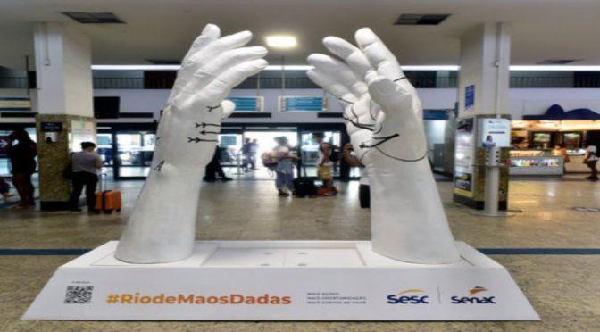 Rio de Mãos Dadas: exposição itinerante do Sistema Fecomércio RJ chega a Itaperuna